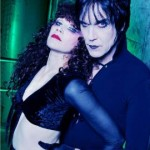 The late Lux Interior with wife, Poison Ivy