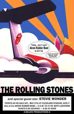Rolling Stones, Akron Rubber Bowl