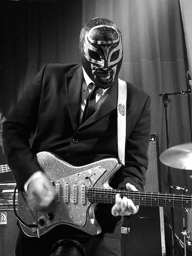Eddie Angel Los Straitjackets