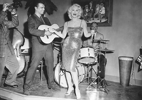 Conway Twitty and Mamie Van Doren