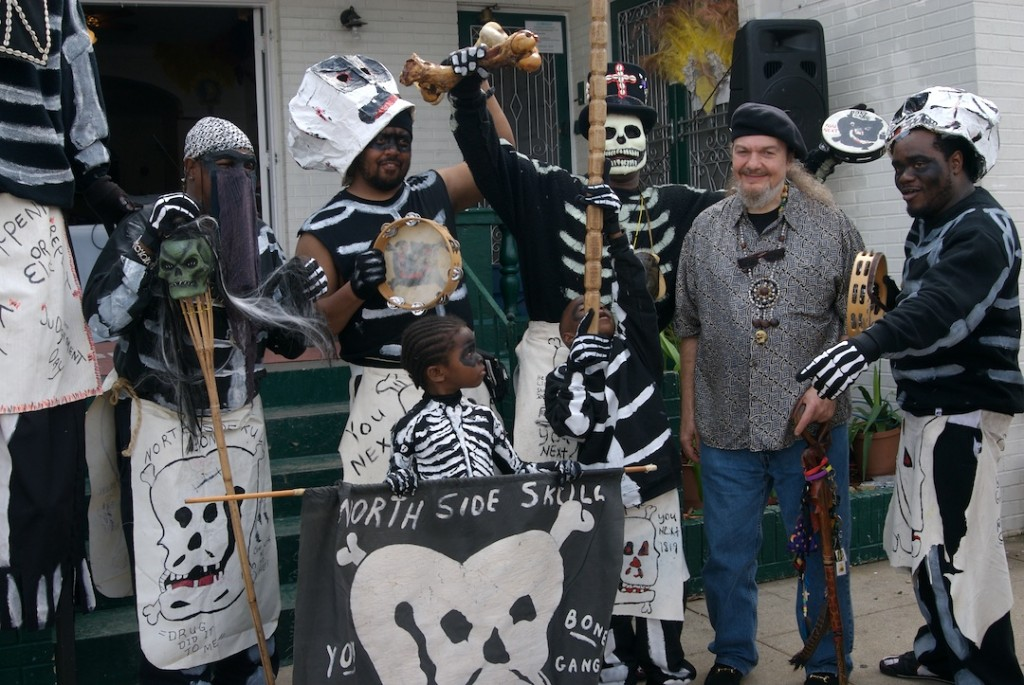 Dr. John with Skull and Bones