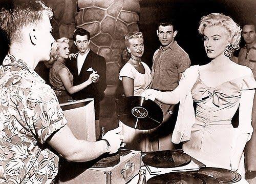 Vinyl Marilyn