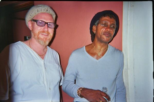 Rusty Zinn and Sly Dunbar