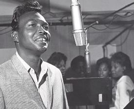 Arthur Alexander with mic