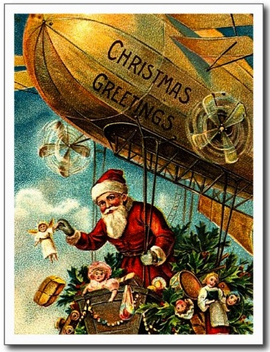 Santa on Blimp.2